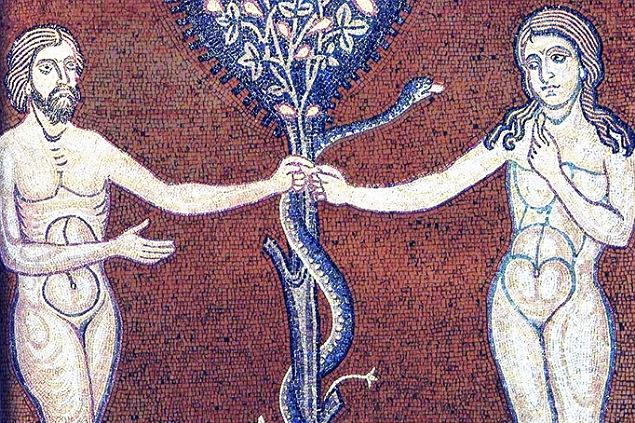 Adam si Eva sarpe