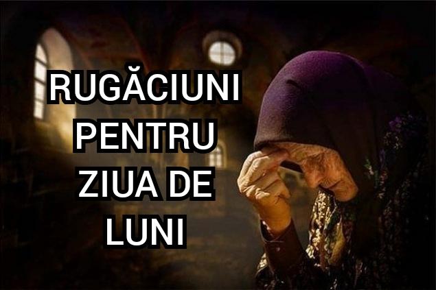 rugaciuni luni