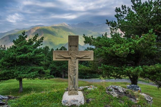 cruce ortodoxă